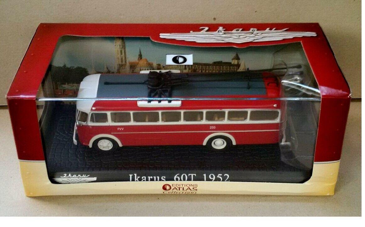 IKARUS 60T Trolleybus ixo 1 72 EDITIONS ATLAS 014, DDR, Hungary, RAR, Rarität