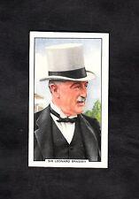 1938 Gallaher Ltd Cigarette Card Racing scene No26 Sir Leonard Brassey