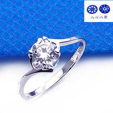 ViVi Ladies Engagement sterling silver Diamond Ring 8446a