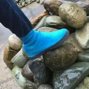 Silicone-Overshoes-Rain-Waterproof-Shoe-Covers-Boot-Cover-Recyclable-Exquisite