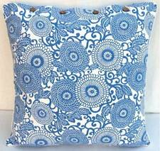 Cushion Cover Large Anthea Blue Euro Pillow Sham Daybed Sofa Floor Outdoor