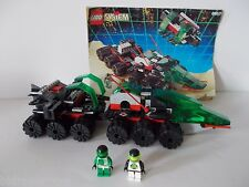 Lego 6957 Solar Snooper 1992 Space Police 2 100% Complete w Manual Vehicle Vtg