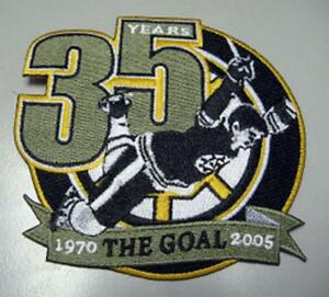 NHL-BOSTON-BRUINS-BOBBY-ORR-THE-GOAL-PATCH-VERY-RARE