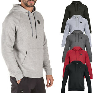 Mens-Under-Armour-Hoodie-Rival-Fleece-Pullover-Hoodie-1320736-NEW