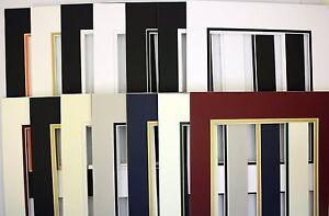 Set Of 20 11x14 Mixed Color Double Mats Pre Cut Mat For