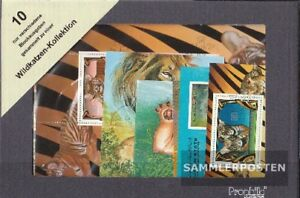 Stamps Topical Stamps Kind-Hearted Thematics 10 Different Wildcats Blocks