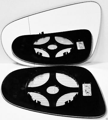 plate Left side Flat wing mirror glass for Vauxhall Combo 2012-2017 heated
