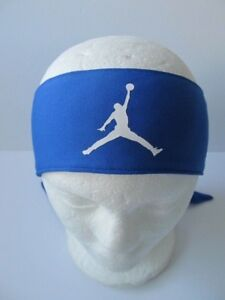 Nike Jordan Head Tie Jumpman Game Royal White Men s Women s New ... 514b72a2dbf