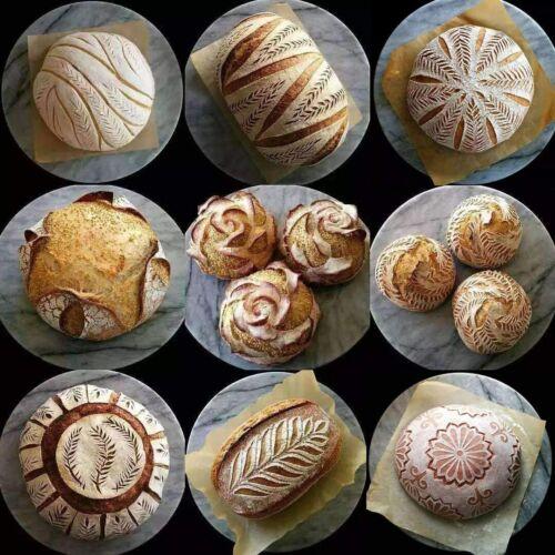 Pack 2 Large Oval Round Bannetons Bread Proofing Basket Bortforms Proving Bowl