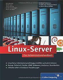 Linux-Server: Das Administrationshandbuch (Galileo Compu... | Buch | Zustand gut