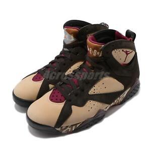 new concept e494e 713c5 Details about Nike Air Jordan 7 Retro OG SP Patta VII Shimmer Red Brown Men  Shoes AT3375-200