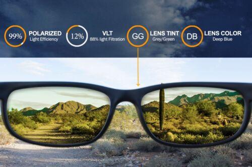 Polarized IKON lentilles de remplacement pour électrique technicien DEEP BLUE MIRROR