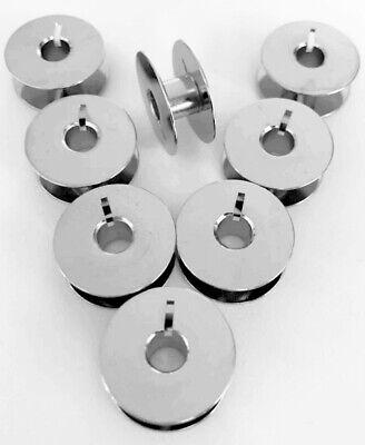 10 Metall Spulen für Adler Nähmaschinen