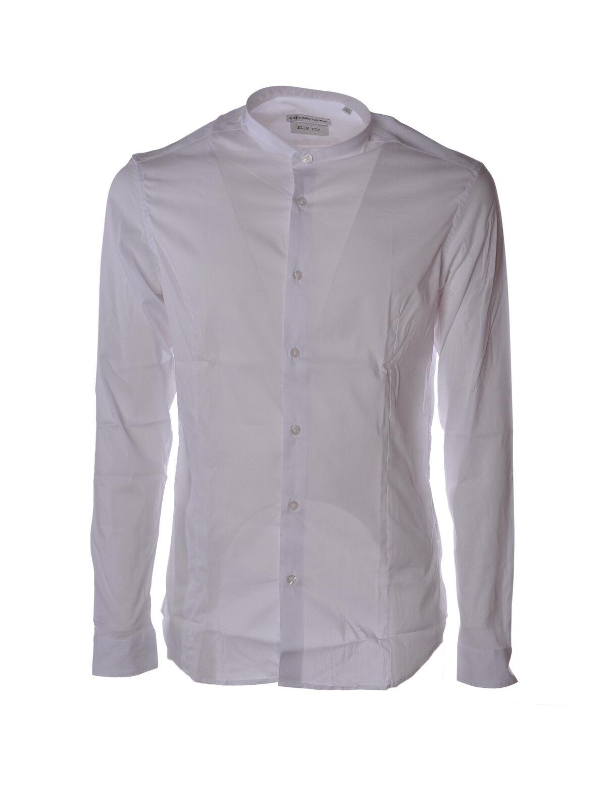 Daniele Alessandrini  -  Shirts - Male - White - 3125013A183446