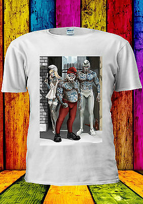 Bad Guys The Smurfs Sexy Cool Gym T-shirt Vest Tank Top Men Women Unisex 2354