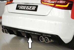 Rieger-Utilisation-Arriere-Noir-Brillant-Audi-A3-8V