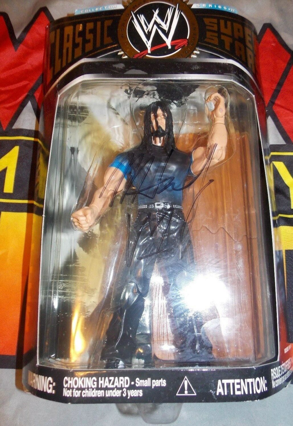 WWE Jakks Classic Superstars Series 13 Matt Hardy MOC Signed Auto WCW ECW TNA
