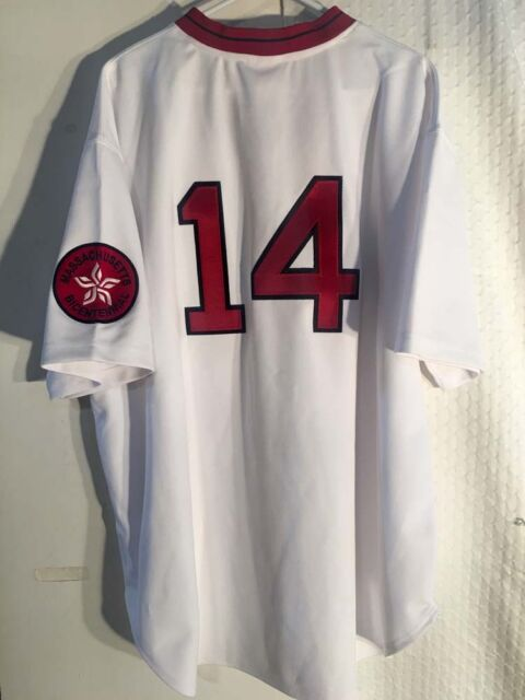 sports shoes 9e439 cad9b Authentic MLB Jersey Boston Red Sox Jim Rice White Mitchell & Ness sz 56