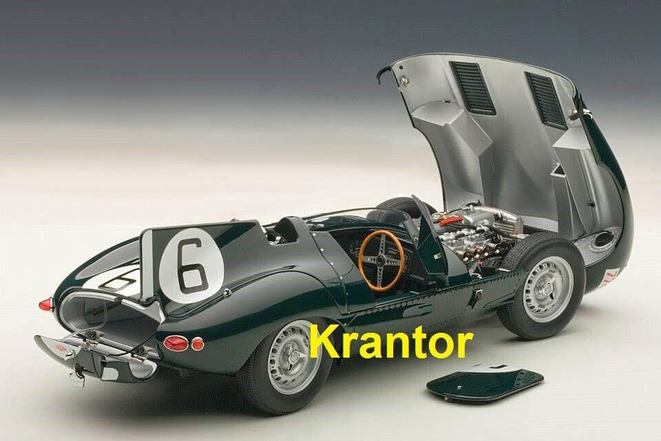 1 18 Autoart 85586, Jaguar DTYPE LE uomoS 24hr RACE 1955 WINNER Hawthorn BUEB