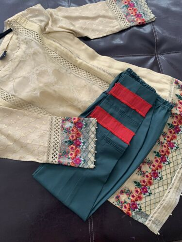 Jeem Brand Pakistani Wear Party Dress Full Suit