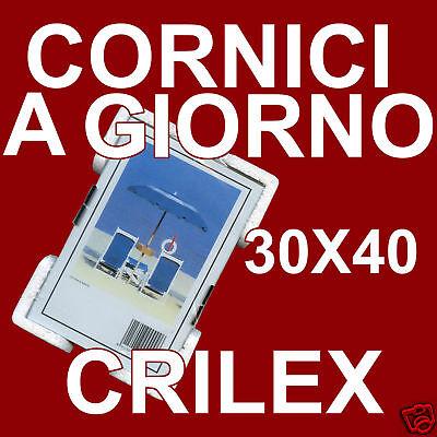 Dinamico Cornici A Giorno 30x40 Crilex Antinfortunistico - Cornice A Giorno In Crilex Alta Resilienza