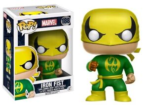 Marvel-Iron-Fist-Green-amp-Gold-Funko-Pop-Vinyl-NEW-IN-Mint-BOX-Protector
