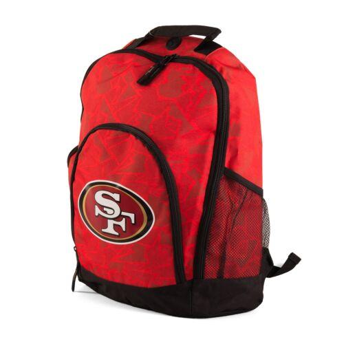 80134 NFL San Francisco 49ers Rucksack Backpack Forever C Farbe rot