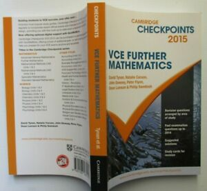 Checkpoints-VCE-FURTHER-MATHEMATICS-2015