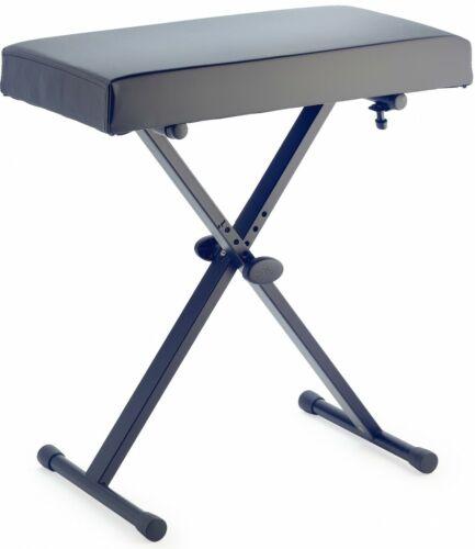 und einklappbaren Beinen Stagg KEB-A30 Keyboardbank mit X-Form