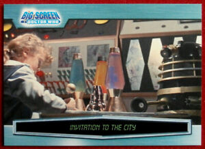 DR-WHO-amp-THE-DALEKS-BIG-SCREEN-Card-021-INVITATION-TO-THE-CITY-2003