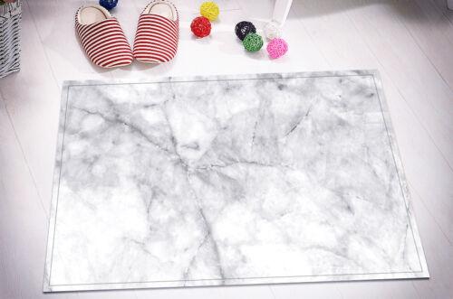 "72//79/"" Grey /& White Marble Waterproof Bathroom Decor Shower Curtain /&Mat /&12Hook"
