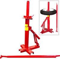Manual Portable Tire Changer Mount Home Garage Farm Wheel Demount Tires Changer on sale