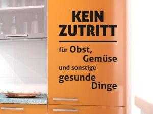 Kühlschrank Tattoo : Kühlschrank aufkleber wandtattoo tattoo für küche kein zutritt