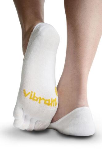 White Vibram 5Toe Ghost Unisex Outdoor Trail Five Fingers Socks Coolmax