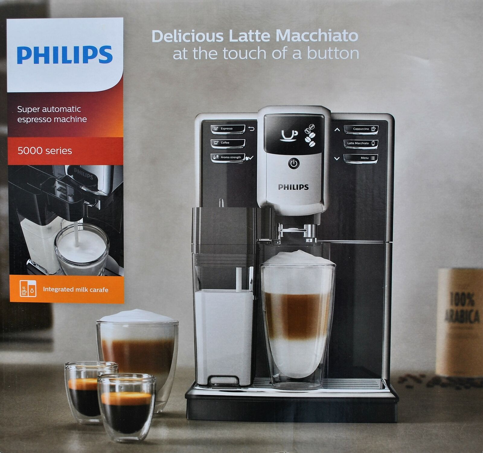 Philips serie 5000 Ep536010 cafetera Súper Automática Molinillo Ceramico