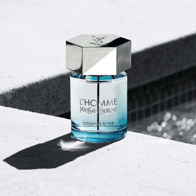 L'homme Cologne Bleue by Yves Saint Laurent EDT Spray 3.3 oz 100ml