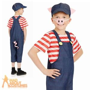 Three-Little-Pigs-Costume-Childs-Boys-Girls-Pig-Book-Week-Day-Fancy-Dress-Outfit