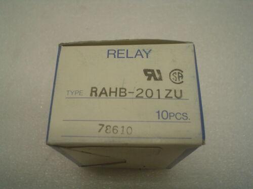 60 day warranty Box of 10 RAHB-201ZU Idec Relay New in Box