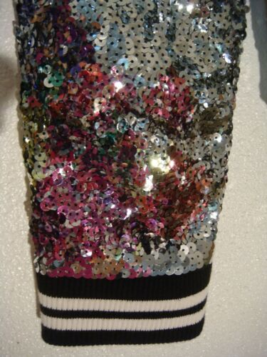 Jacket Bling Secret Varsity Ed Yoga 2 Limited Set Pink Pants Sequin Victoria's qRnxOz1gwB