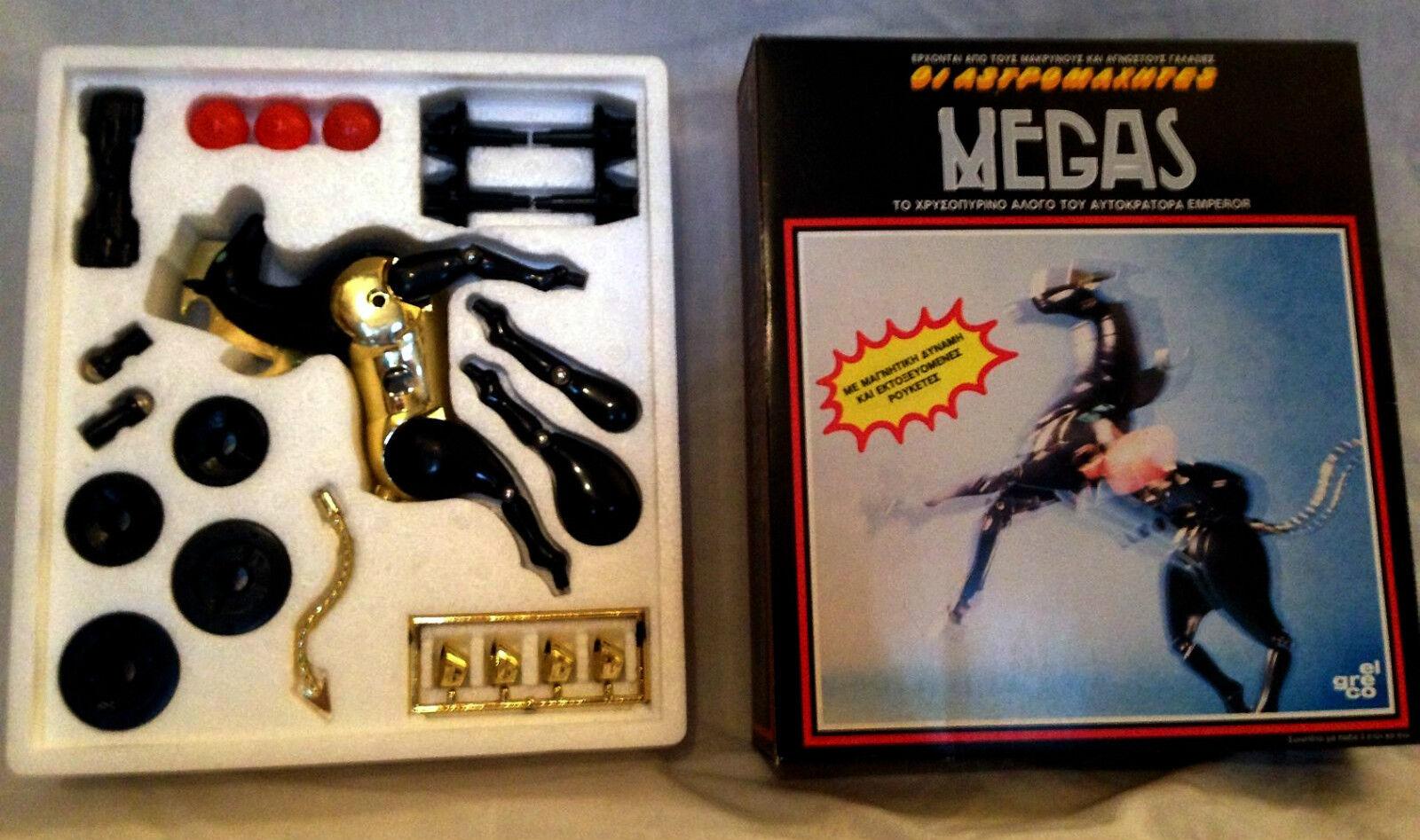 NEW Vintage Mego El El El Gre Co Greek version Micronauts MEGAS MIB Free Shipping RARE a98f65