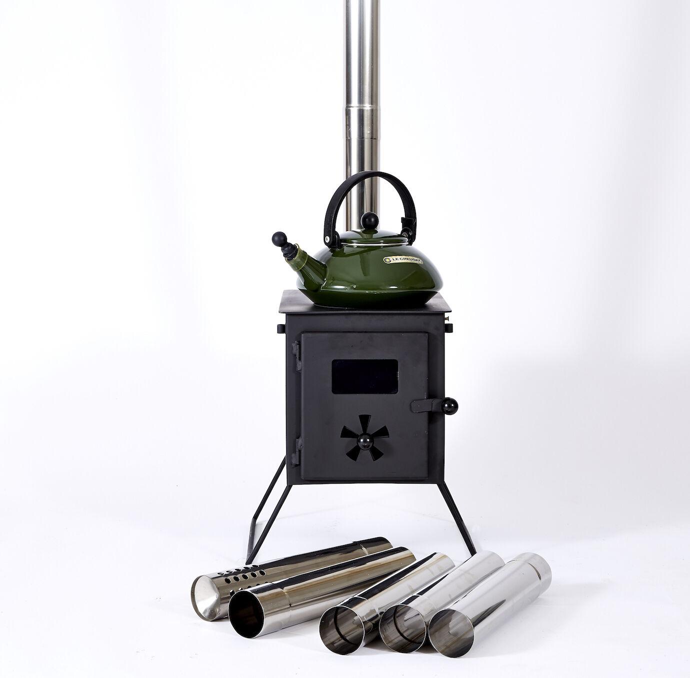 outbacker Chambre de combustion portable en bois cloche Tente Poêle avec GRATUIT