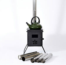 Outbacker® Firebox Portable Wood Burning Bell Tent Stove -With Free Carry Bag
