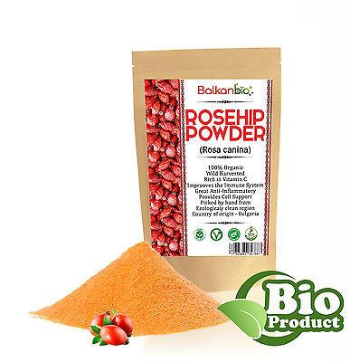 Rosehip Powder Organic Vitamin C Antioxidant Immune Booster Rosa Canina Ebay