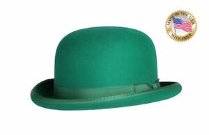 79044d765 Details about GREEN DERBY Hat Shannon Phillips Bowler Kelly Riddler NEW  NHT03-22