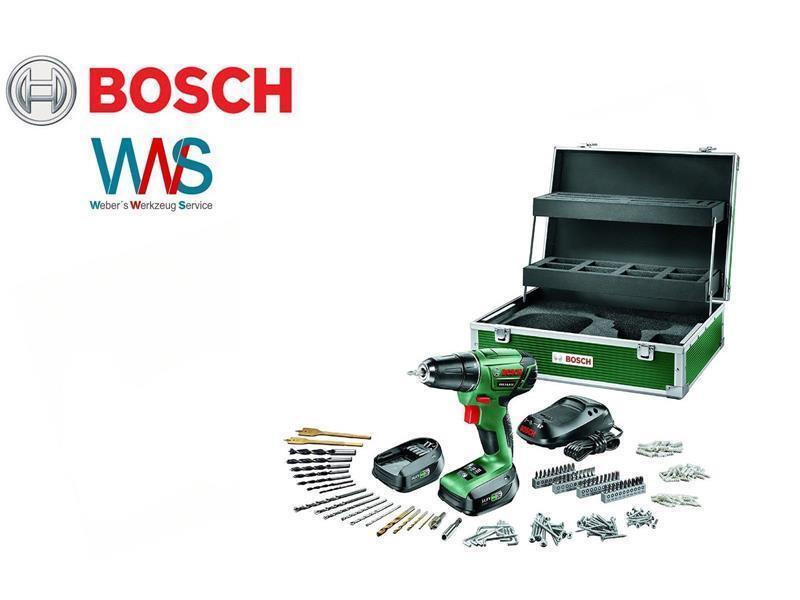 BOSCH PSR 14,4 Li Akkuschrauber 241 tlg. Zubehör-Set + Toolbox + 2 Akkus