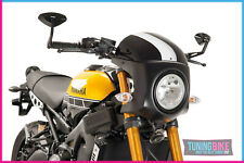 Puig Windshield Naked New Generation Sport 3548N for Kawasaki Z400 19 Black
