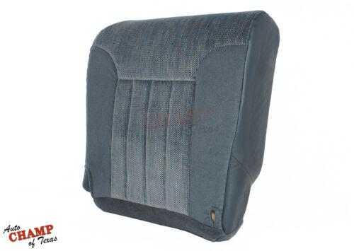 Driver Side Bottom Replacement Cloth Seat Cover Blue 1997 Dodge Ram SLT Laramie