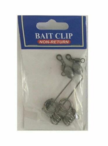 Sea Fishing Tackle Live Bait Sliders Non-Return Weighted or Unweighted
