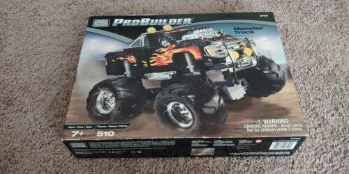 Monster Trucks For Sale >> Mega Bloks Probuilder Monster Truck 510pc Set 9749 For Sale Online Ebay