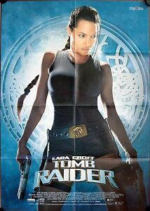 Lara Croft Tomb Raider German Video Movie Poster Angelina Jolie